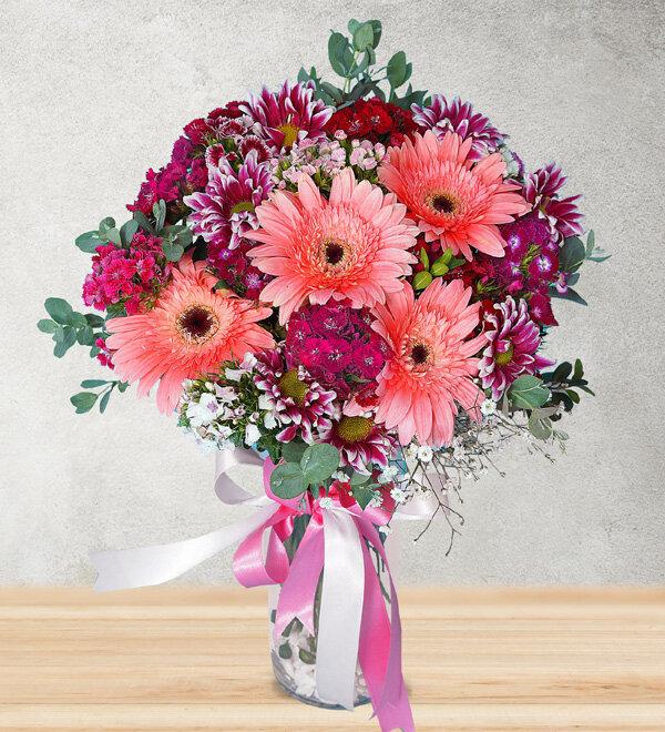 karýþýk mevsim çiçekleri